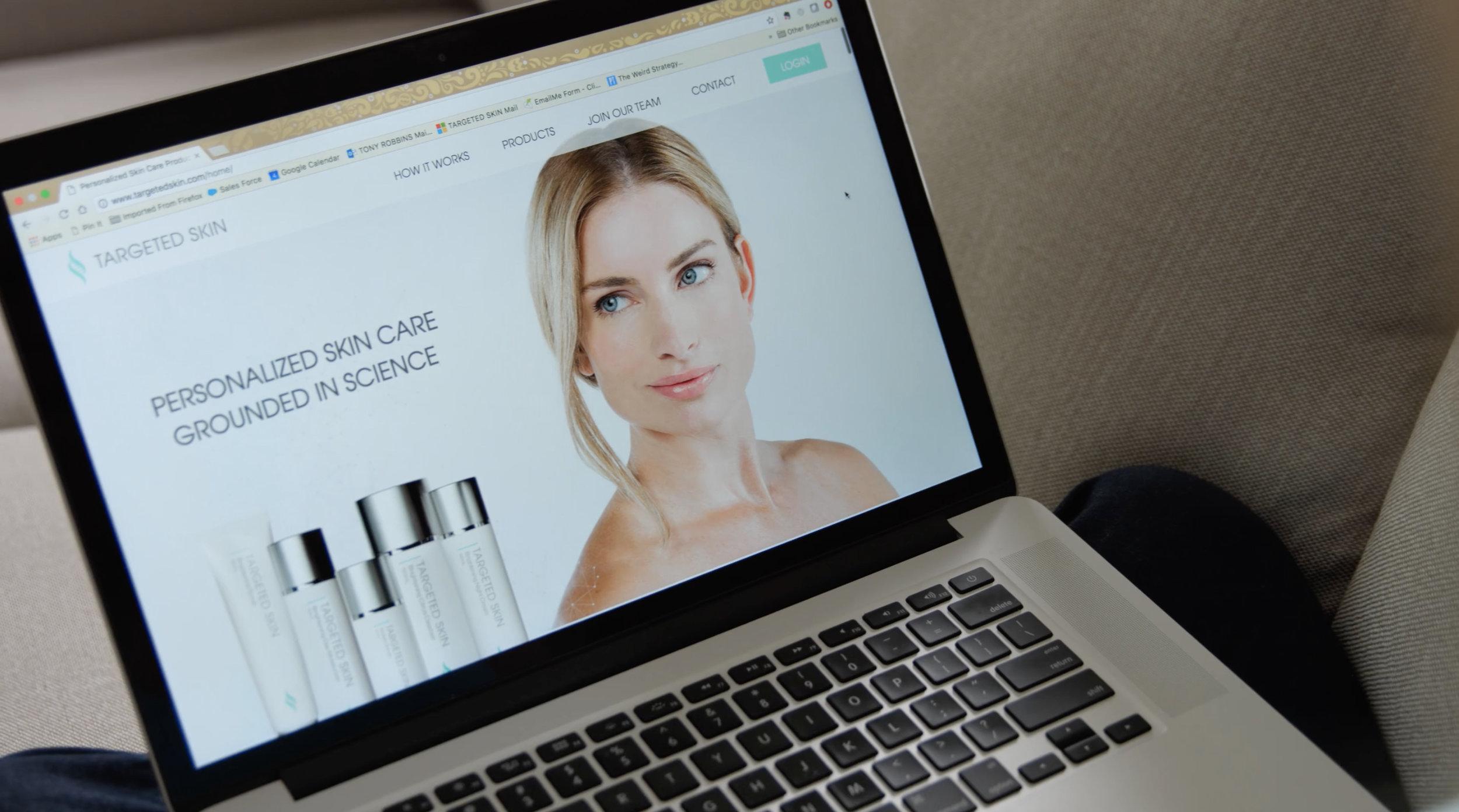 Targeted Skin Commercial Order Online 2