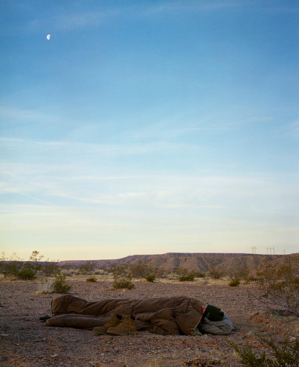 Sleeping  © Adrain Chesser