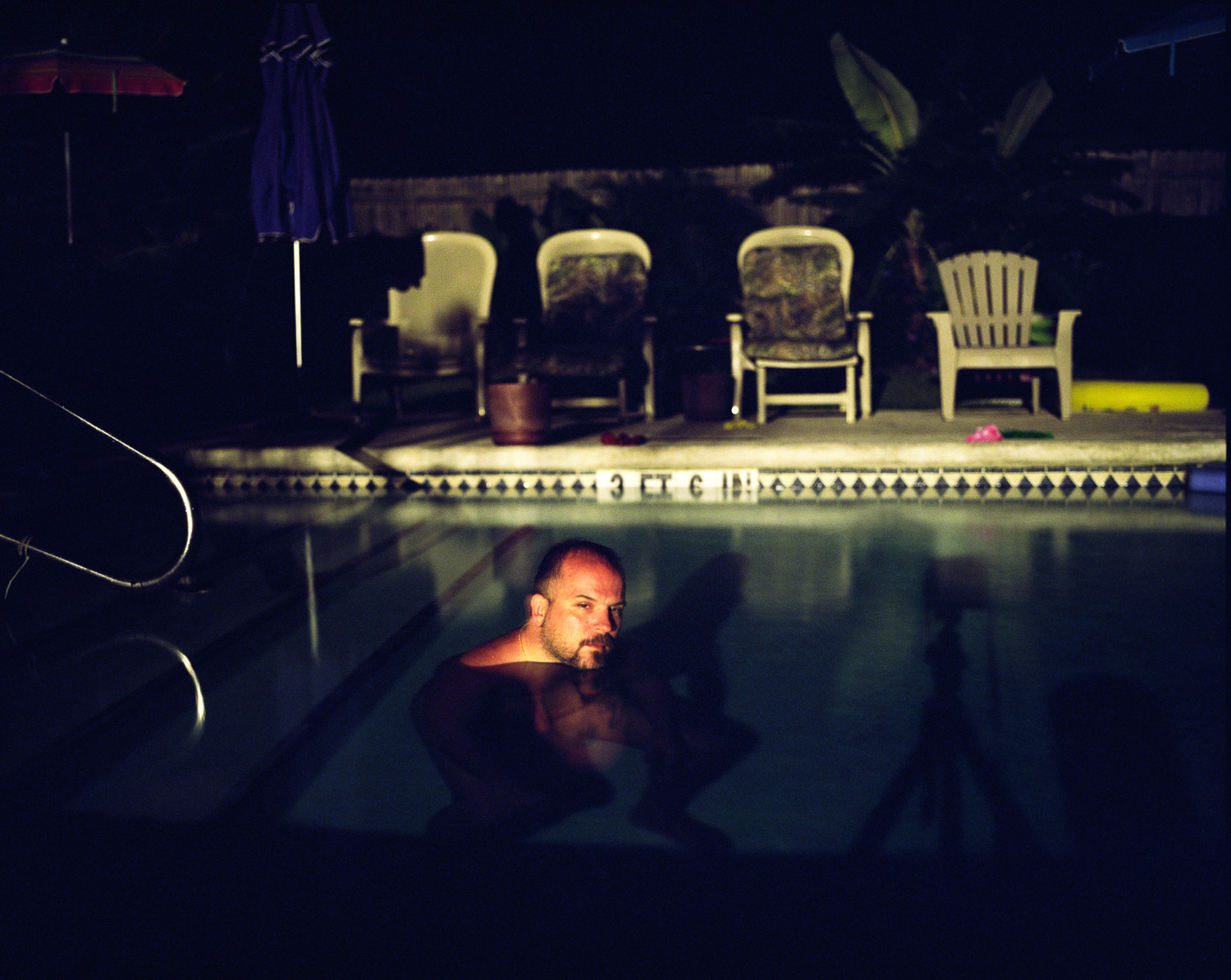 Pool At Midnight  © Adrain Chesser