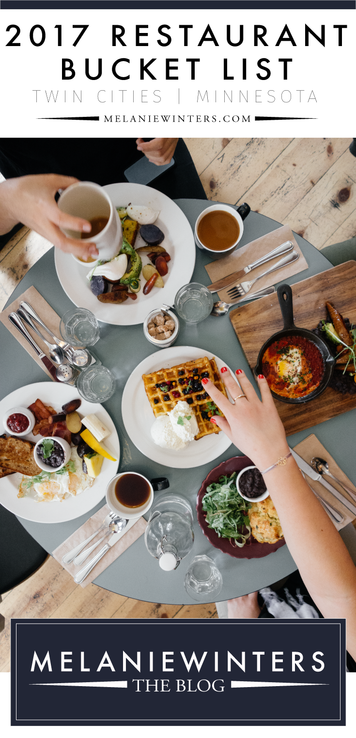 There's no shortage of fabulous casual and fine dining options in the Twin Cities. Our restaurant scene has been booming for years and now rivals that of other major cities. Check out our bucket list of top Minneapolis, St. Paul and surrounding suburbs' restaurants for 2017.