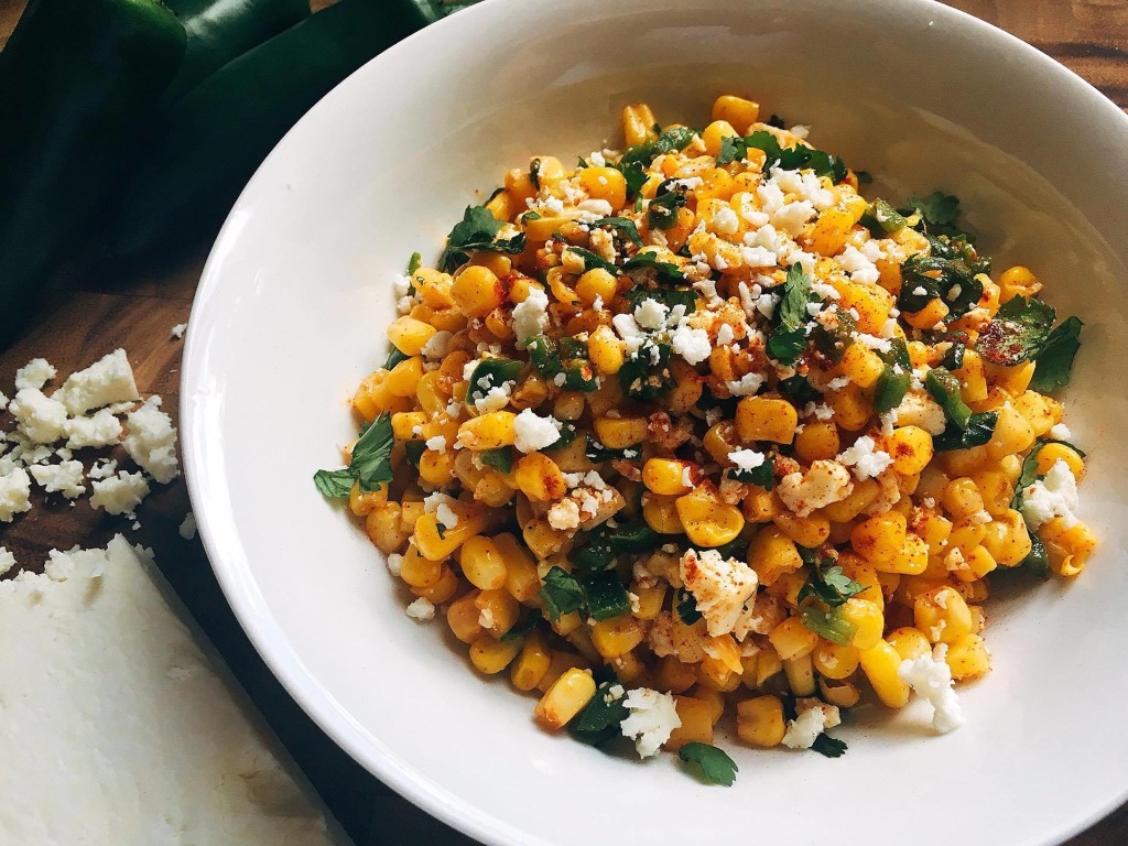 Image by Kim at  Three Olives Branch , recipe for Mexican Street Corn Salsa.