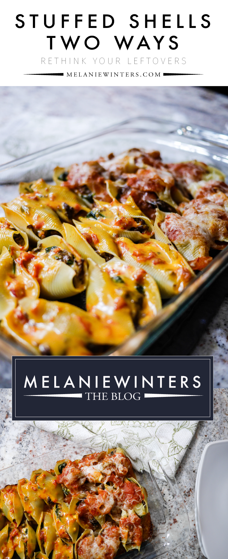 It's time to rethink your leftovers. We combine three different leftovers that you wouldn't think go together to make one epic stuffed shells meal.
