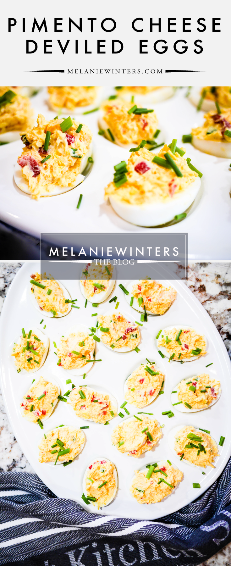Paying homage to the greatest tradition in golf, these Pimento Cheese Deviled Eggs are perfect for your next Masters Party - or any other gathering for that matter.