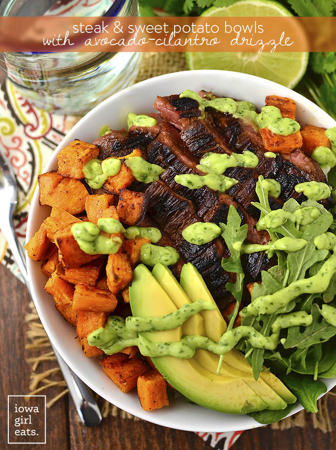 Hearty but fresh, this is a beautifully balanced spring dish from Iowa Girl Eats.  Photo by Kristin at Iowa Girl Eats.