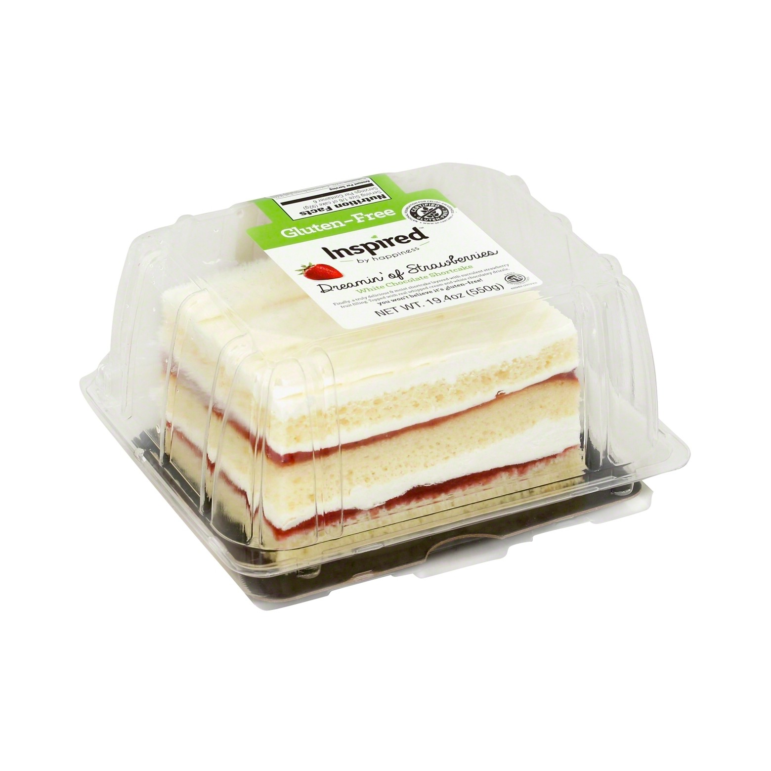Dessert's served! Fresh, light and oh so yummy. This GF Strawberry White Chocolate Cake is sure to satisfy your sweet tooth.