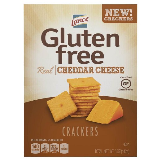 Lance crackers are the perfect GF salty snack.