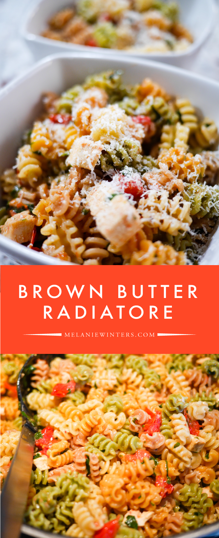 Brown Butter Radiatore