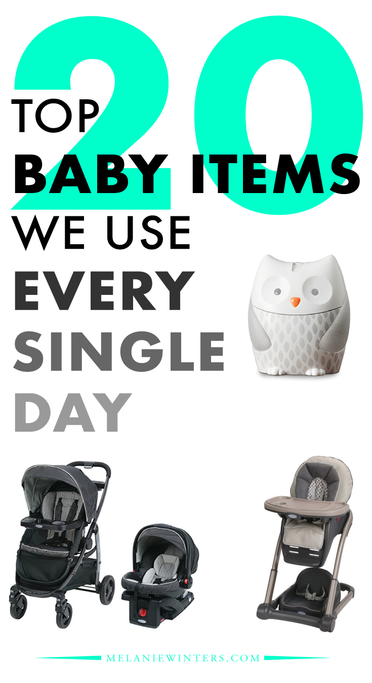 The 20 must have items to navigate life with a 9 month old.