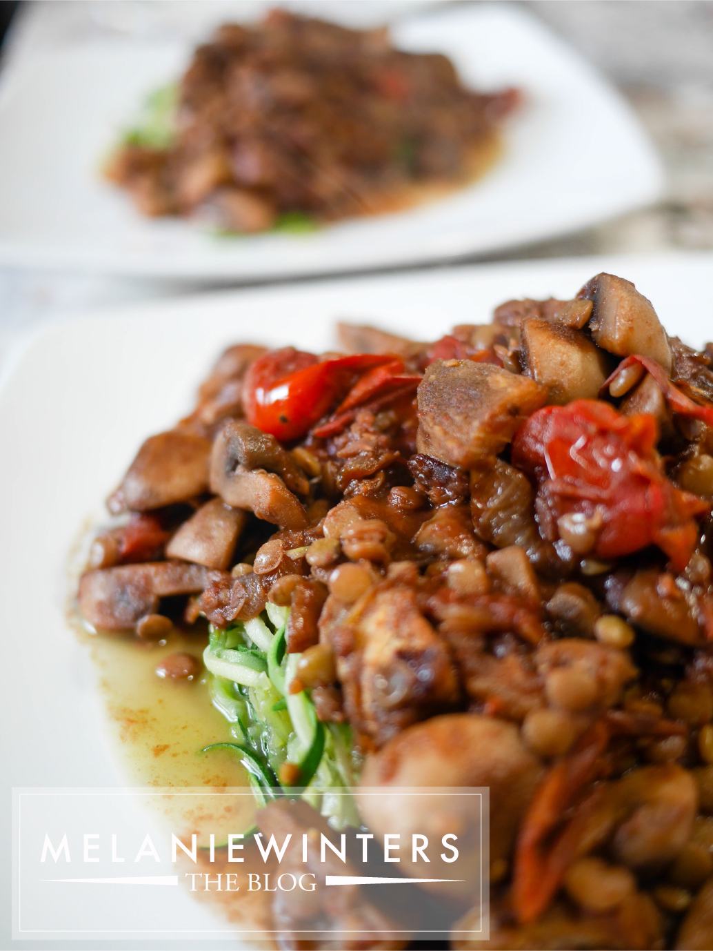 Lentils, eggplants, mushrooms, tomatoes and zucchini make this a seriously great for you dish that you're going to enjoy all year round.