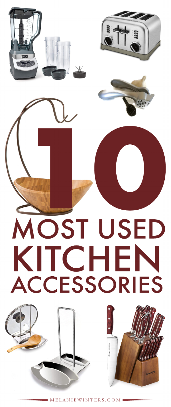 Whether it's ideas for a wedding registry, housewarming registry, baby registry, or just good old adult gift giving, here are the top 10 kitchen accessories that are must haves in every home.