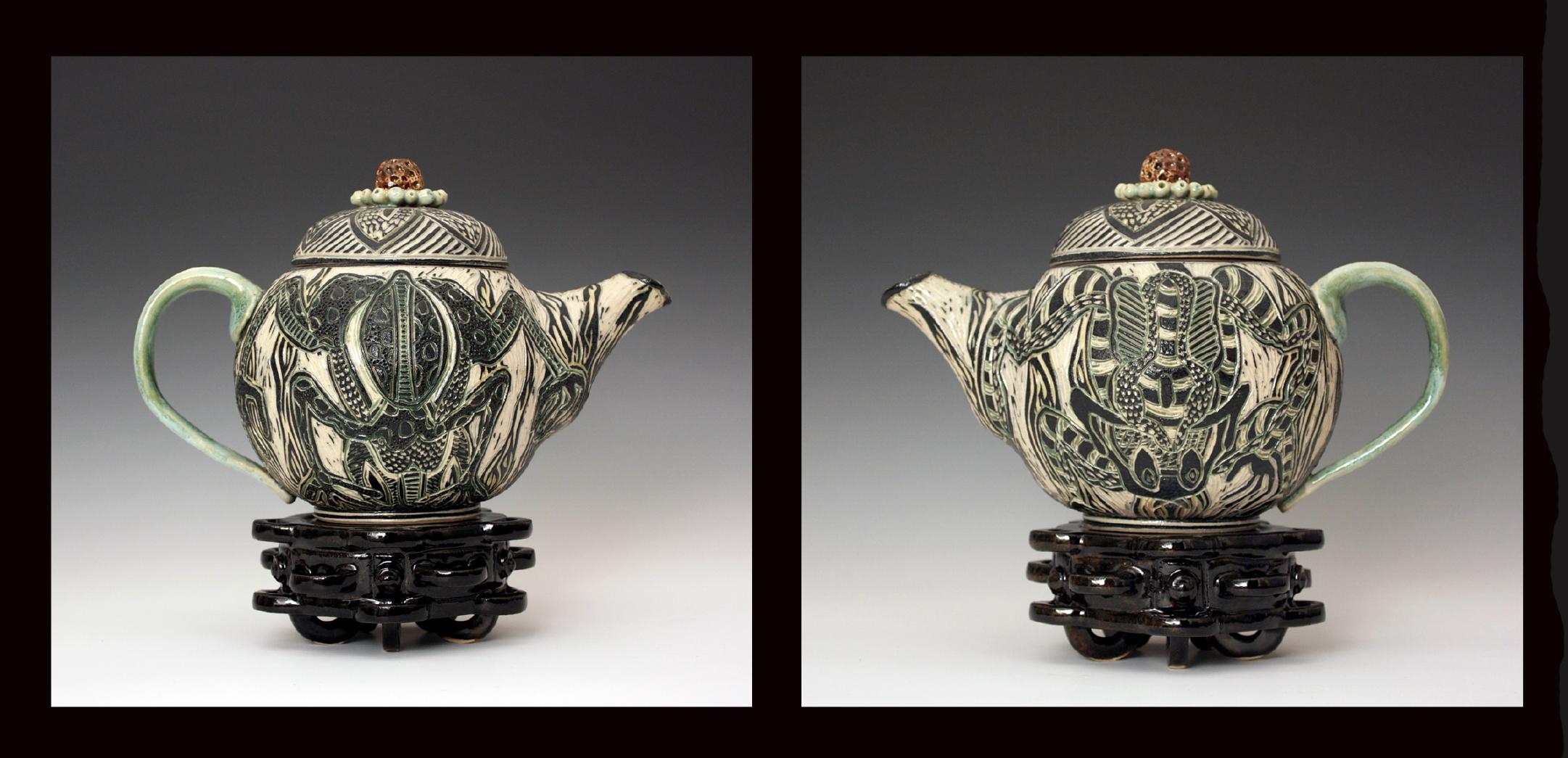 Frog Teapot 2013