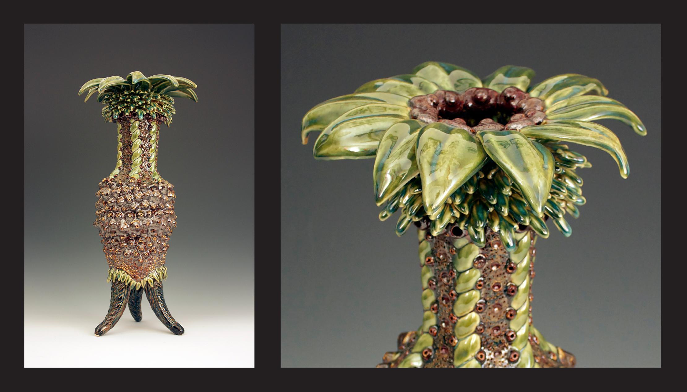 Palm Vase 2014