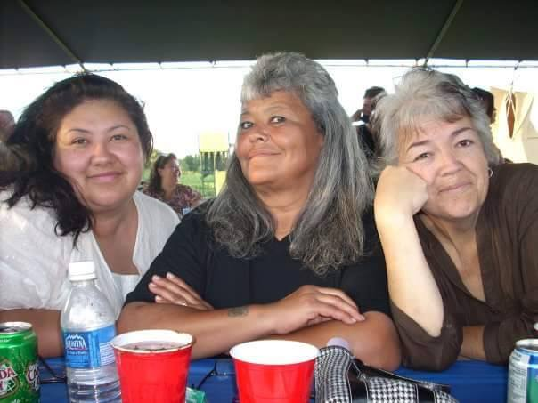 Aunt Cindy, Aunt Bonnie, and mom (DeeDee)