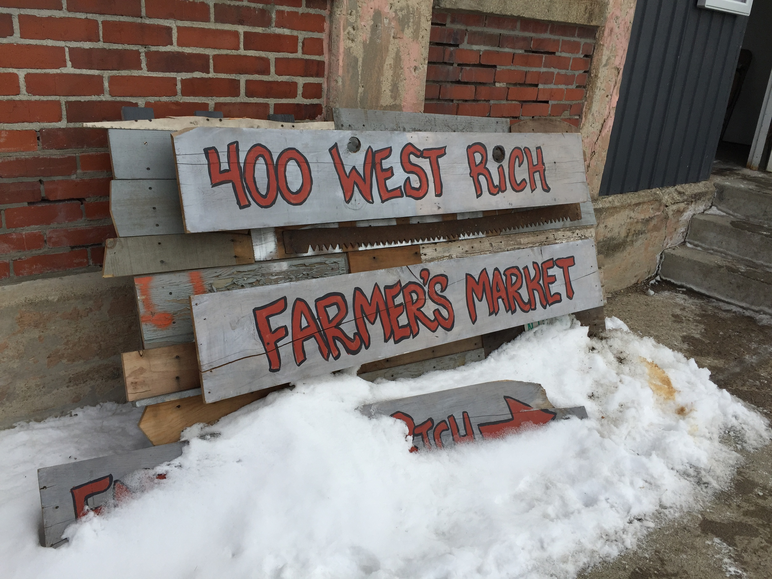 400 West Rich, Farmer's Market. Good things are happening in Franklinton!