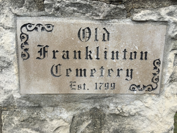 Old Franklinton Cemetery, one of the stops along the Columbus Landmarks Foundation's Franklinton Then and Now Bus Tour