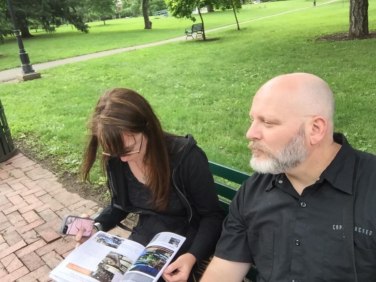 Amy & Burke, Schiller Park