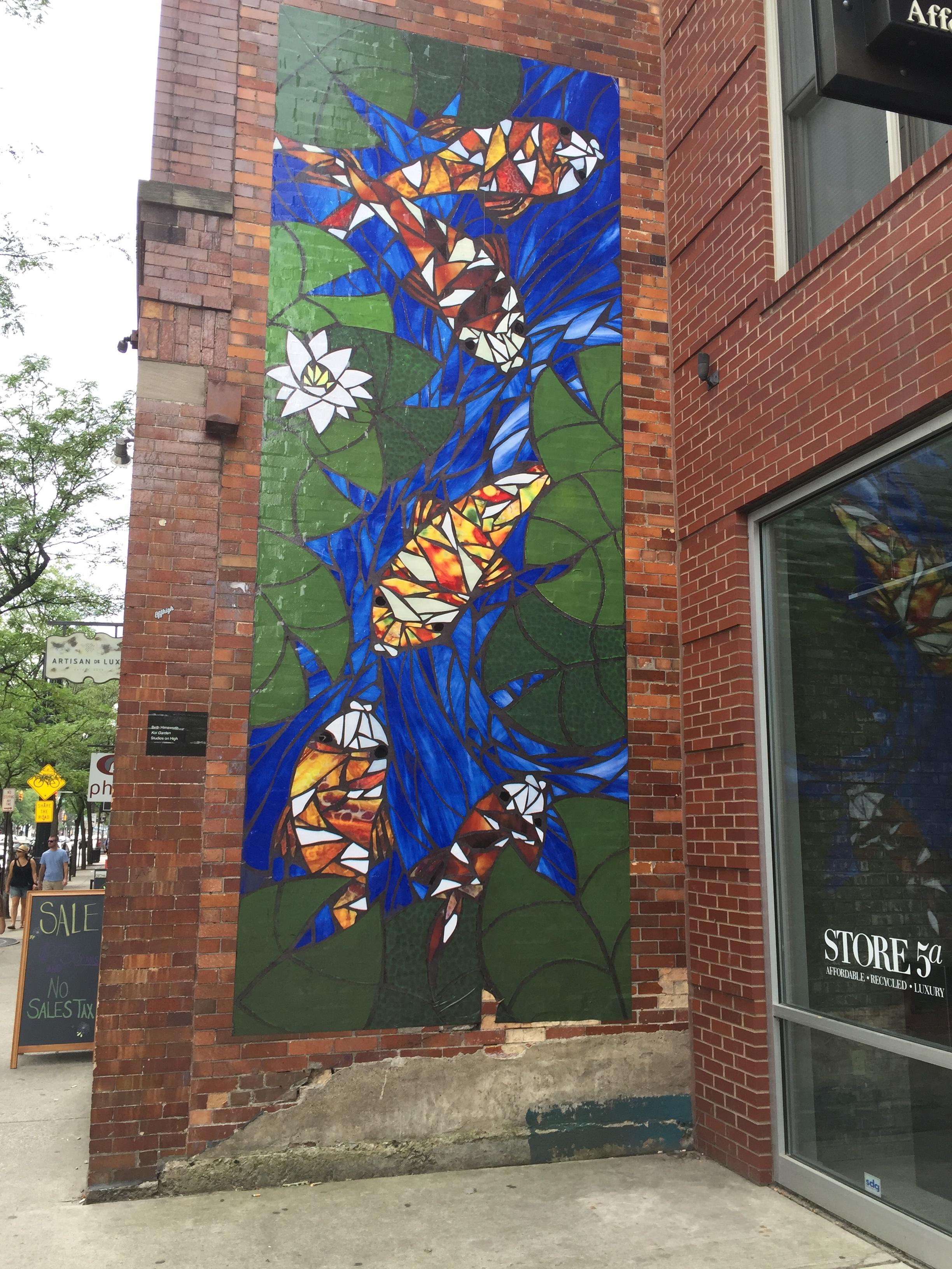 Art along High Street, Short North