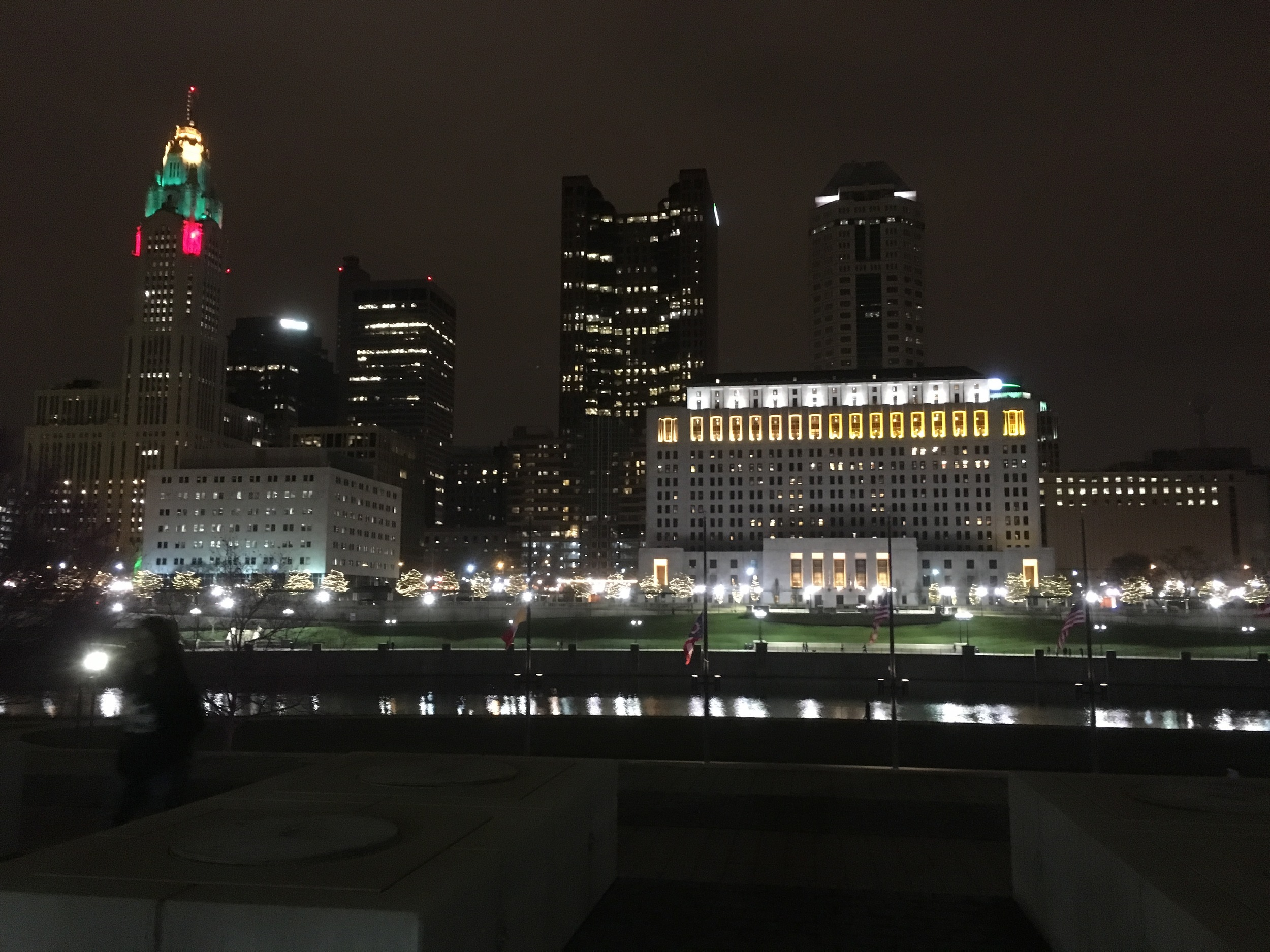 View of Downtown from Genoa Park
