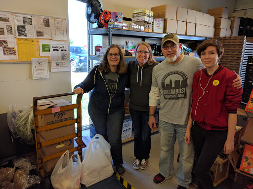Community Plates Food Runners at the Worthington Resource Pantry