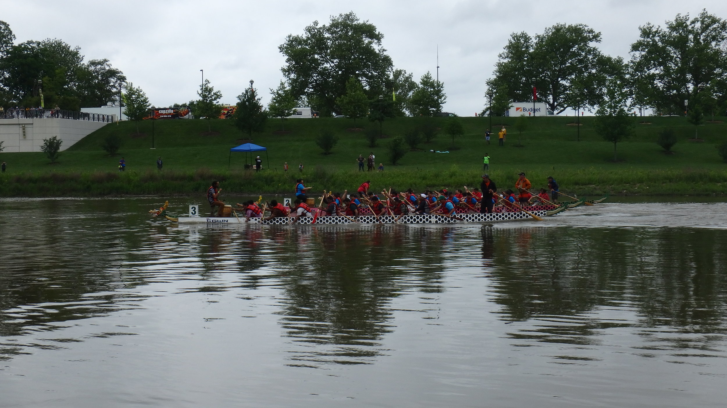 Asian Festival Dragon Boat Racing