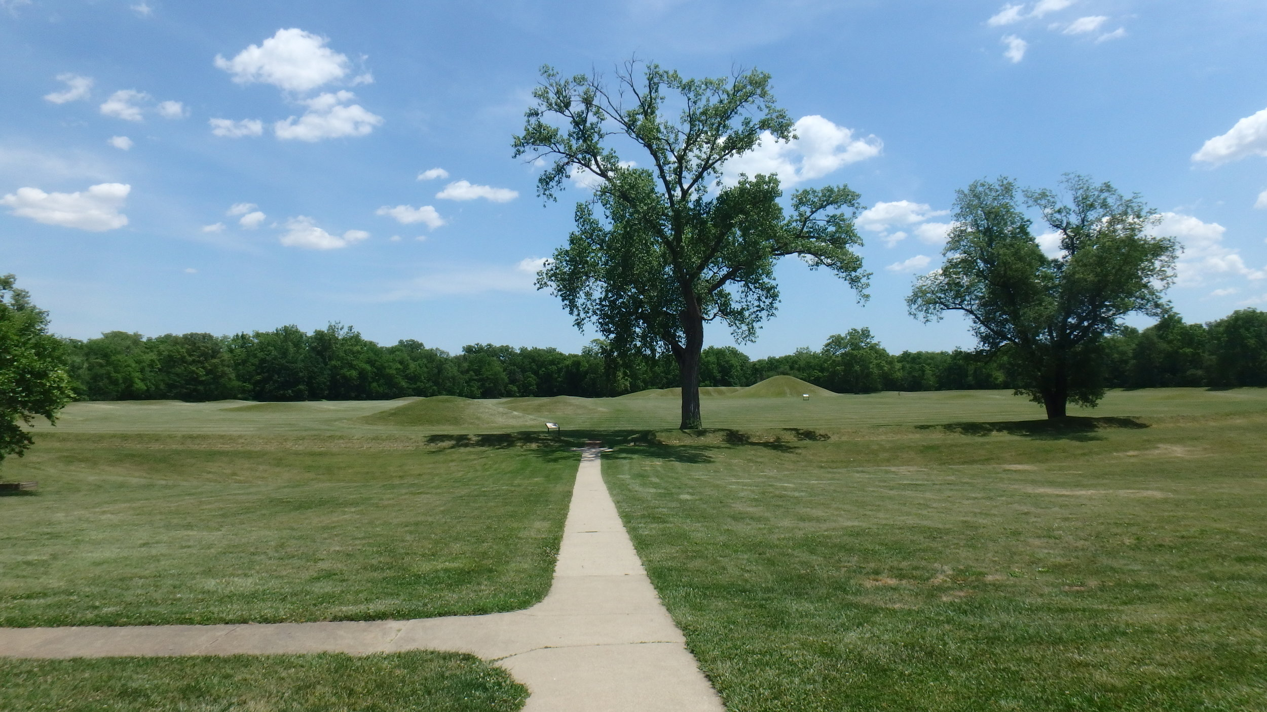During World War I the Mound City Group site was occupied by a military training center known as Camp Sherman.