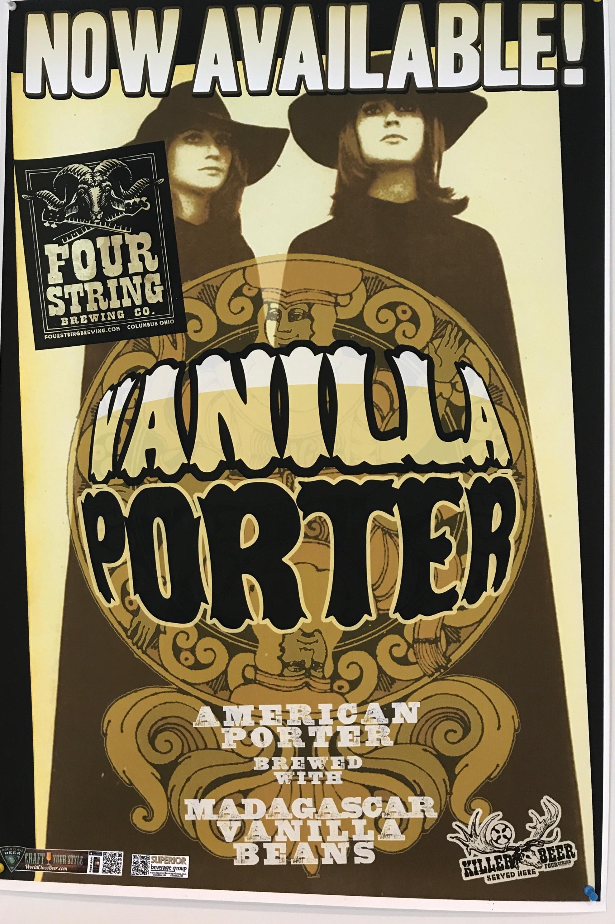 Vanilla Porter - our favorite!