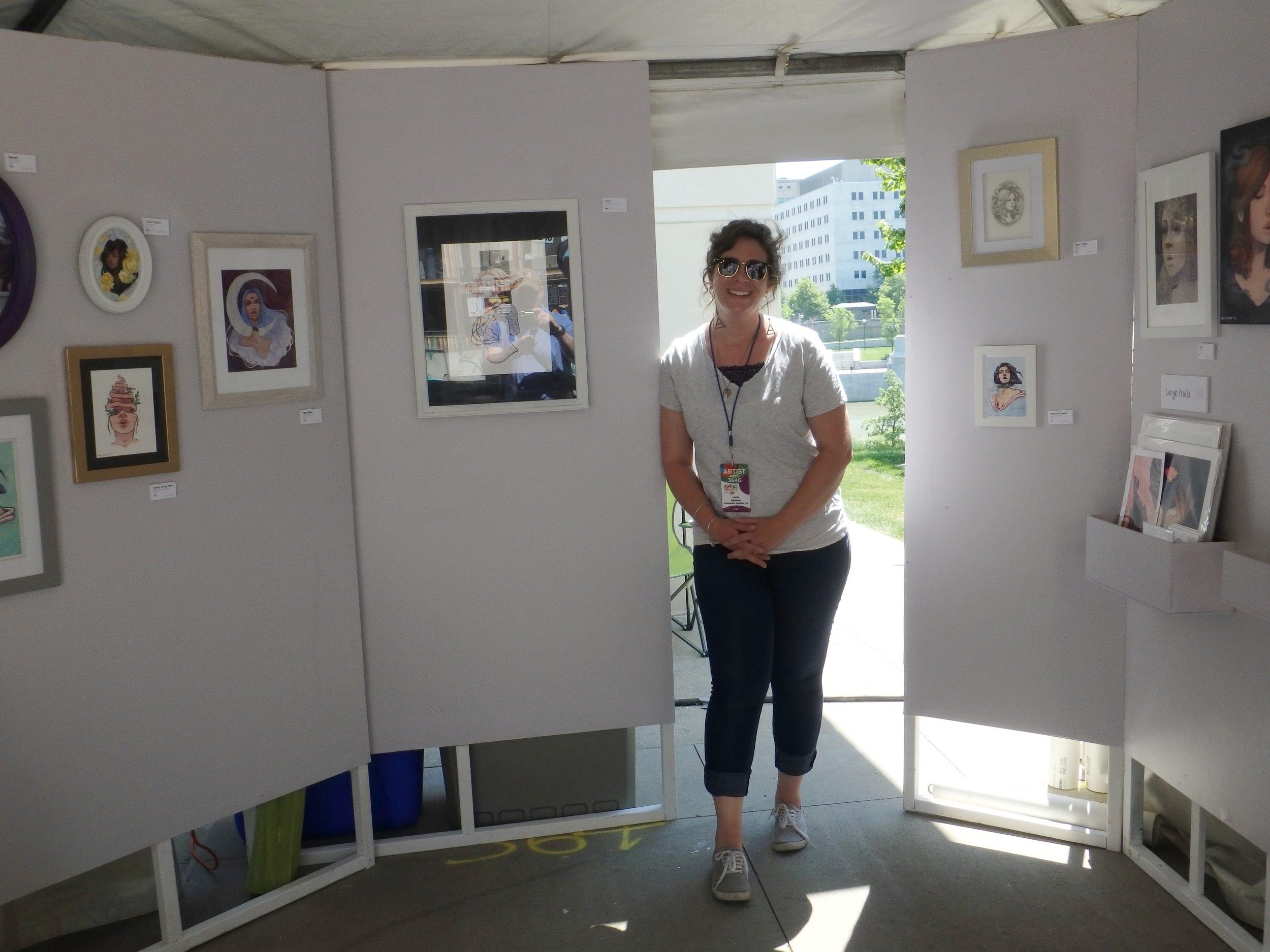 Lucie Shearer - Columbus Arts Festival