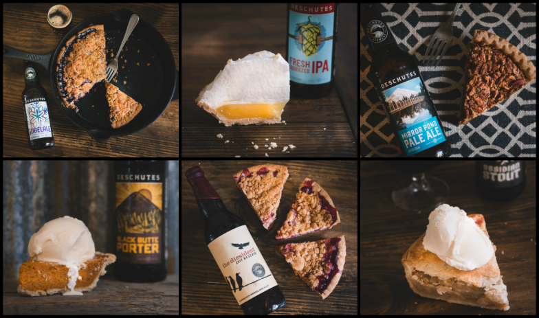 Deschutes Brewery Ultimate Dessert Pairing: Beer and Pie. Yep, we cover Deschutes Brewery's recommendation on this week's podcast! (photo credit goes to Deschutes Brewery.) Click the image for more info!