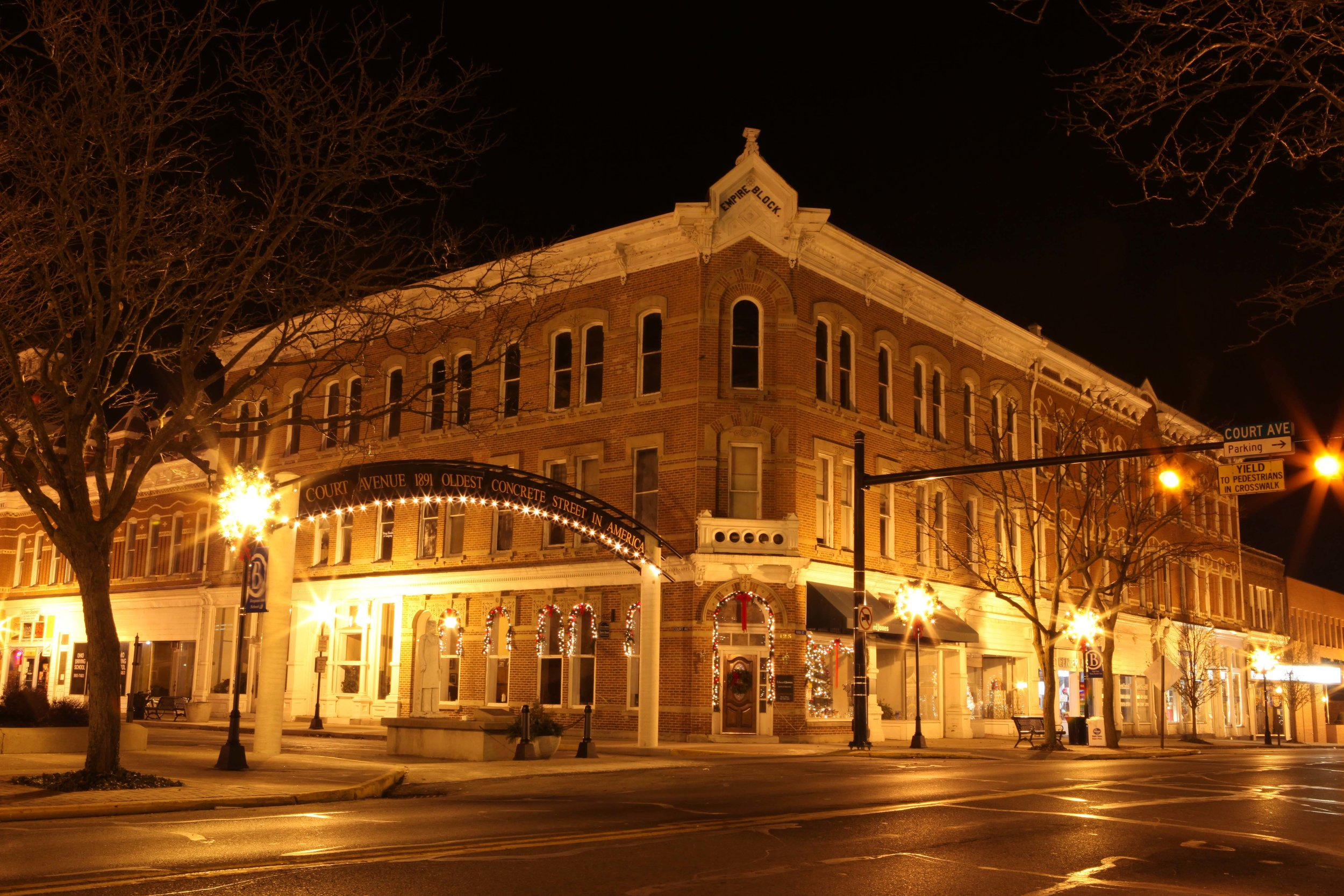 Logan County - Downtown Bellefontaine