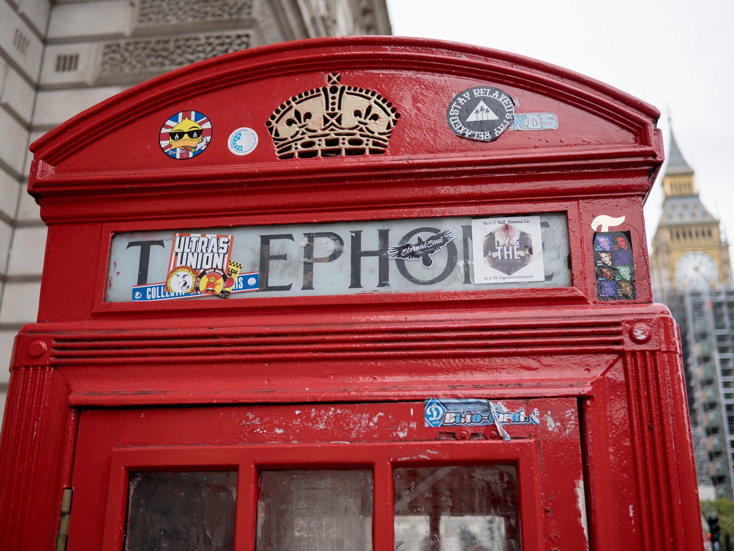 Random Phonebooth in London