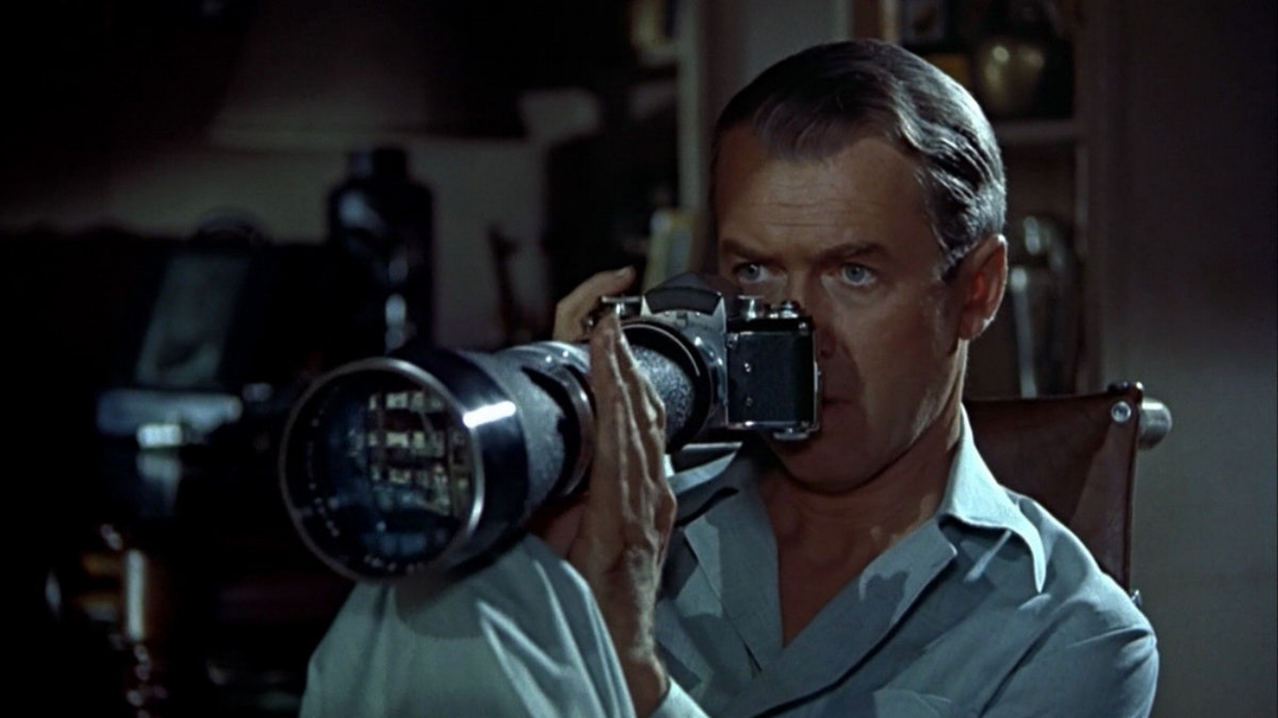 1954's 'Rear Window' - Shot on Technicolor, the film is iconic in its imagery and a favorite for filmmakers and photographers alike.