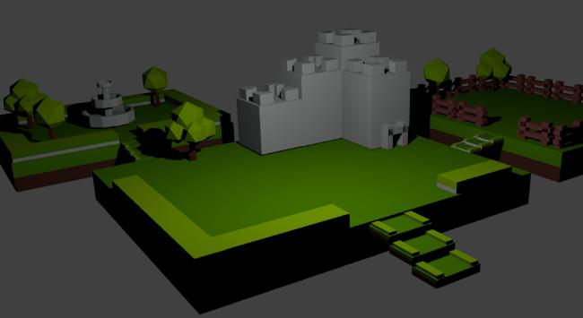 Blender 3D model