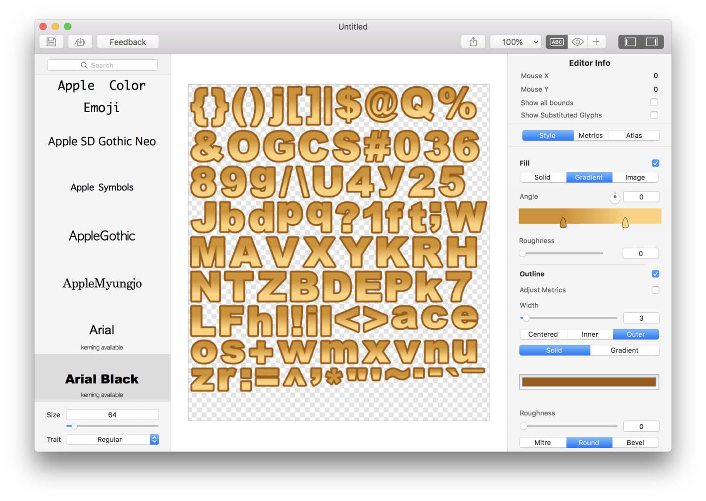Glyph Designer