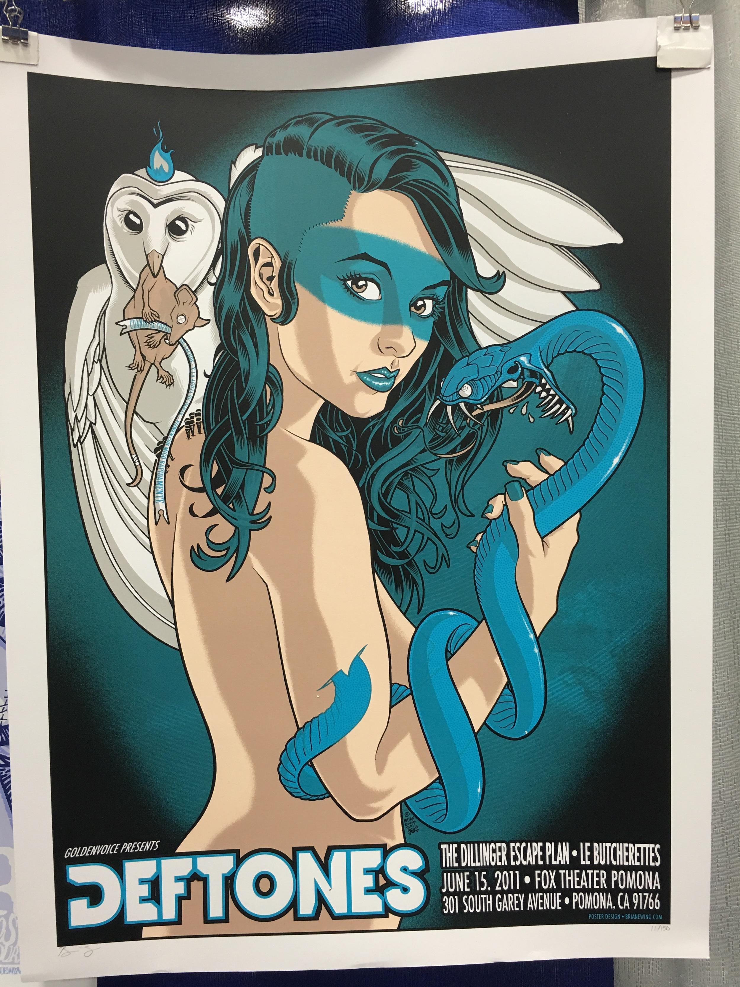 Silkscreen Print cred -  Brian Ewing