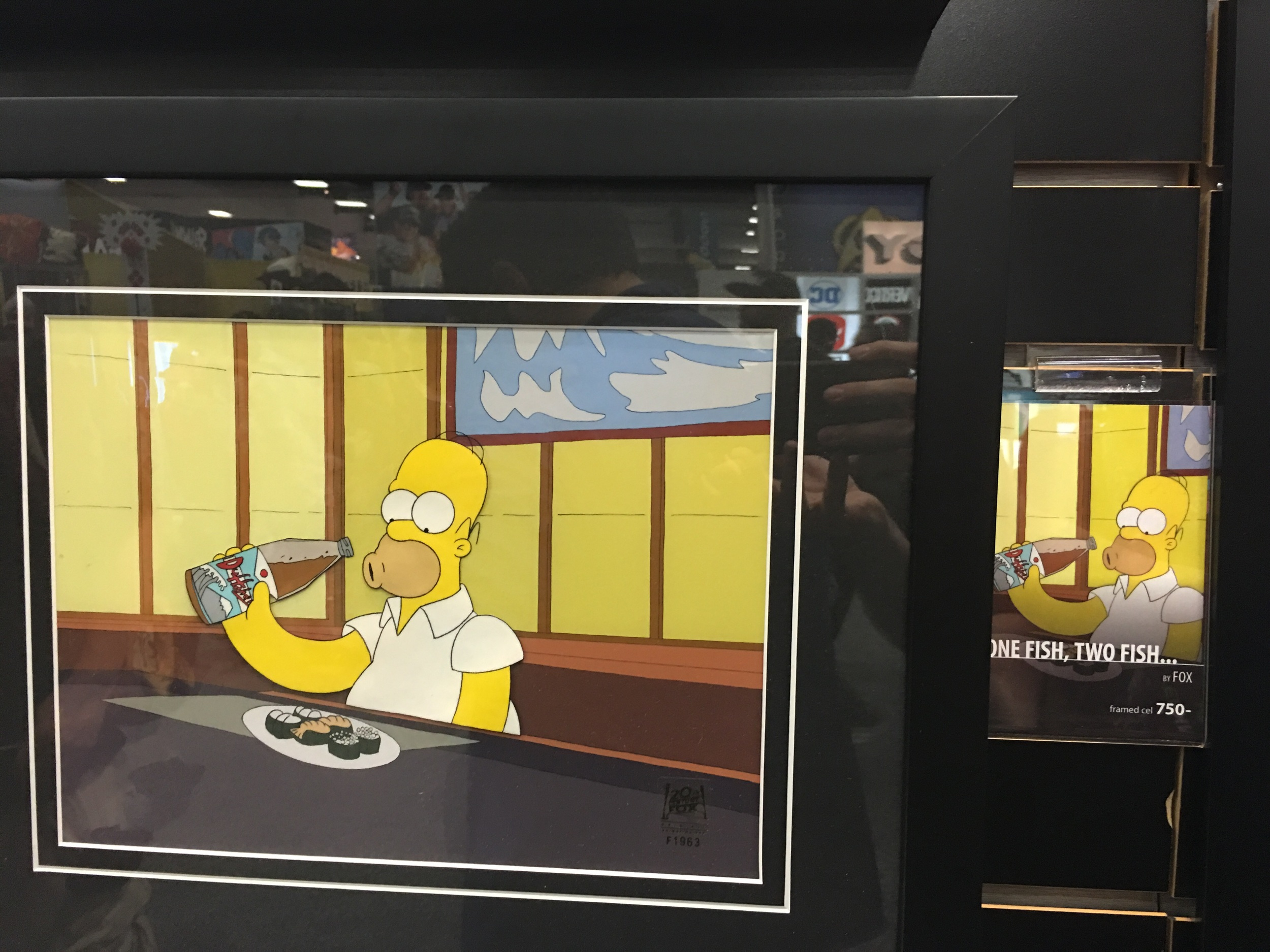 Original production animation cell - The Simpsons