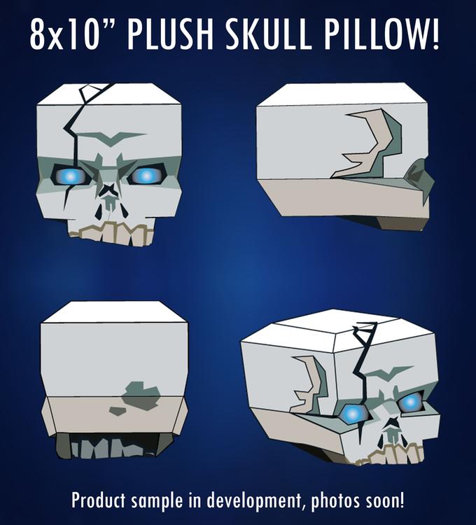 Skull Plushy - Prototype Photo's Coming Soon
