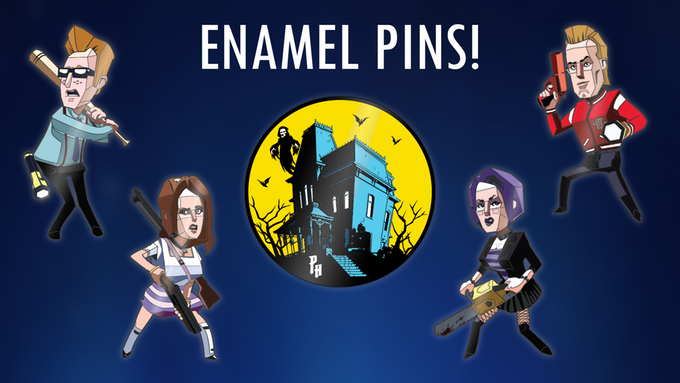 Enamel Pins - Collect them all!