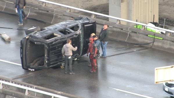 Deadpool filming Leaked Test Footage Scene