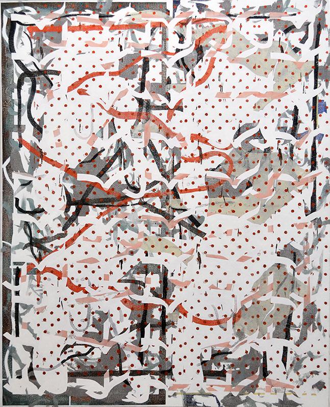 Krisjanis Kaktins-Gorline, Smithers , 2015. Oil on canvas, 60 x 48 inches