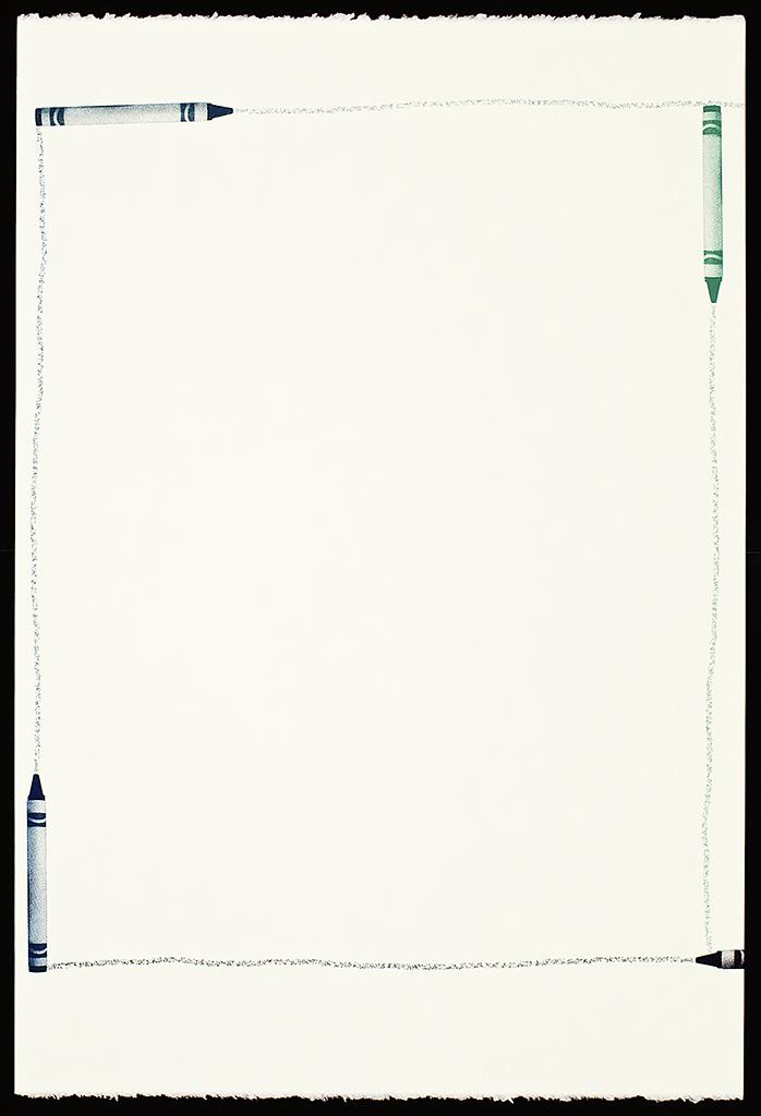 """Untitled Screenprint (12), 2016. Screenprint. 22"""" x 15"""". Each print is one of a kind."""