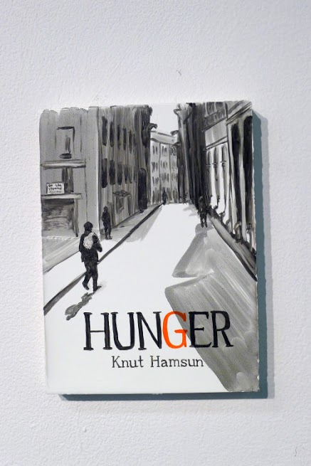 Peggy Kouroumalos, Hunger, 2015. Oil on panel, 8 x 6.5 inches (sold)