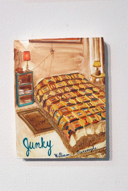 Peggy Kouroumalos, Junky, 2015. Oil on panel, 8 x 6.5 inches