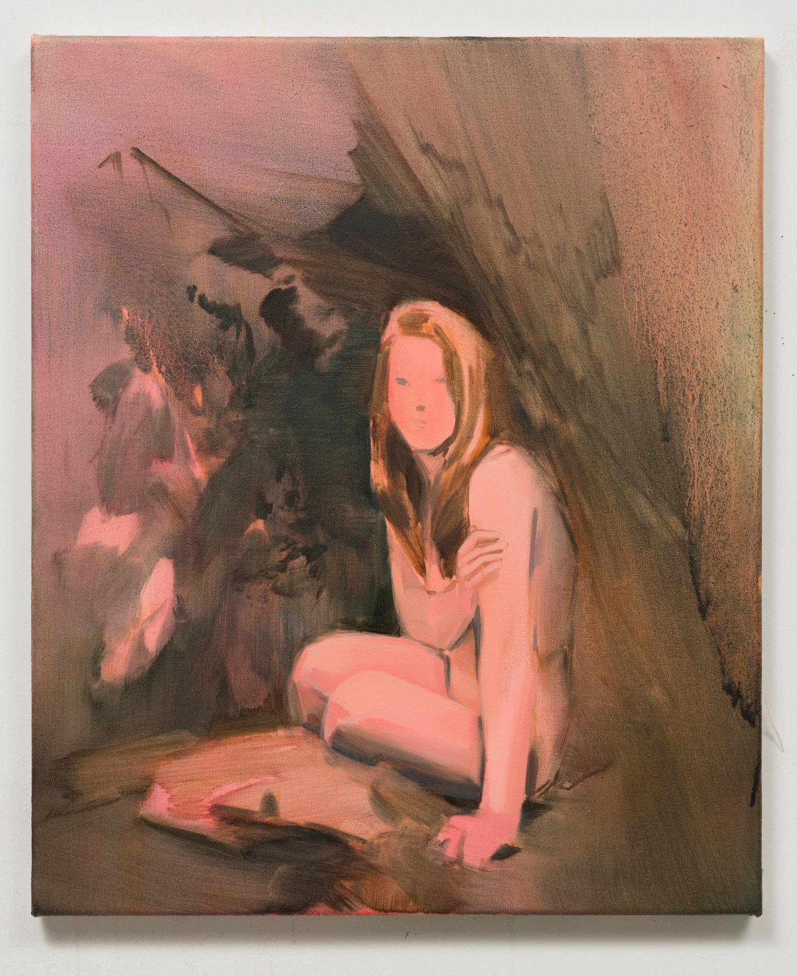 Corri-Lynn Tetz, Shelter , 2017, oil on canvas, 20 x 24 inches