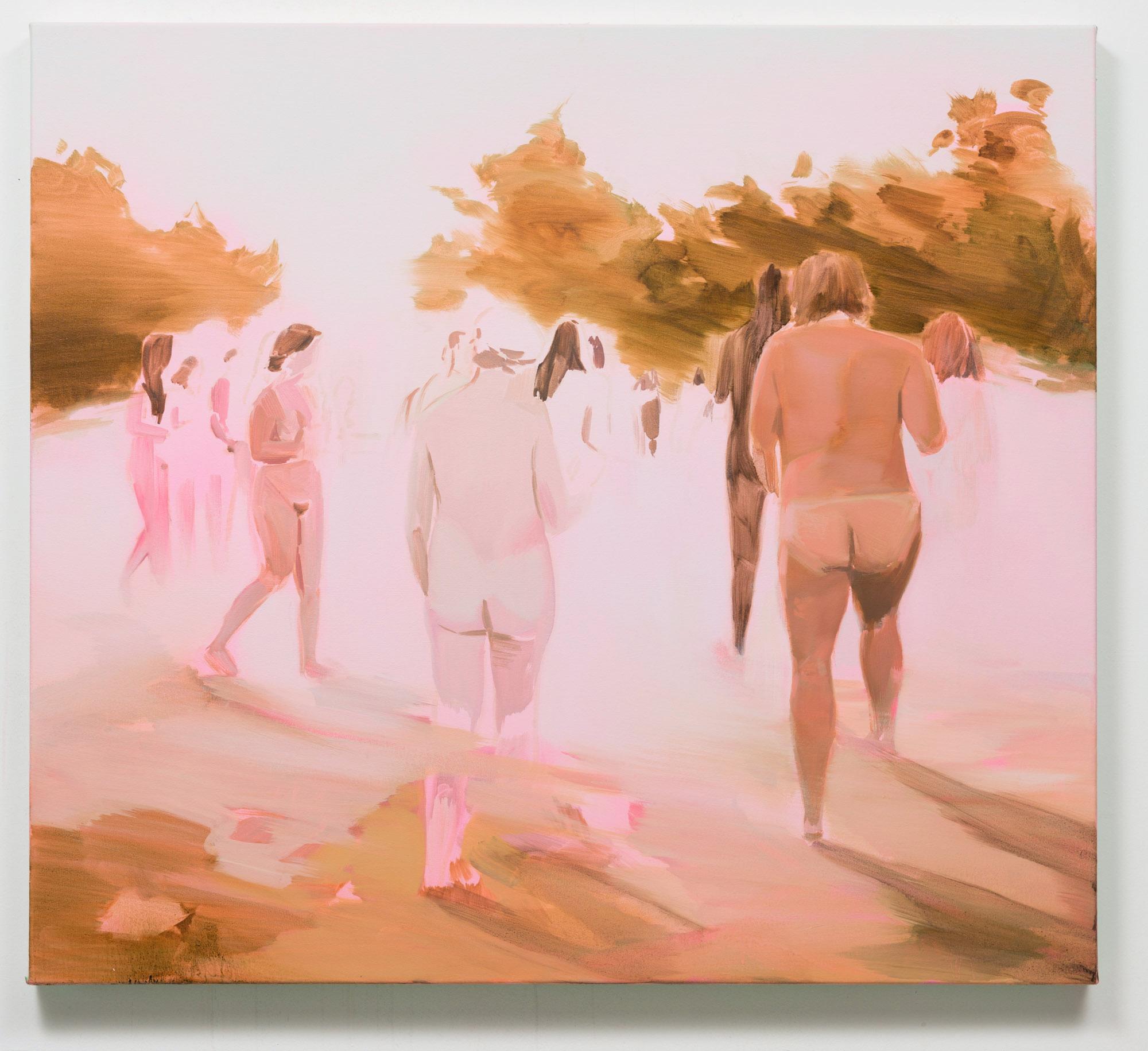 Corri-Lynn Tetz, Light , 2017,oil on canvas, 36 x 40 inches