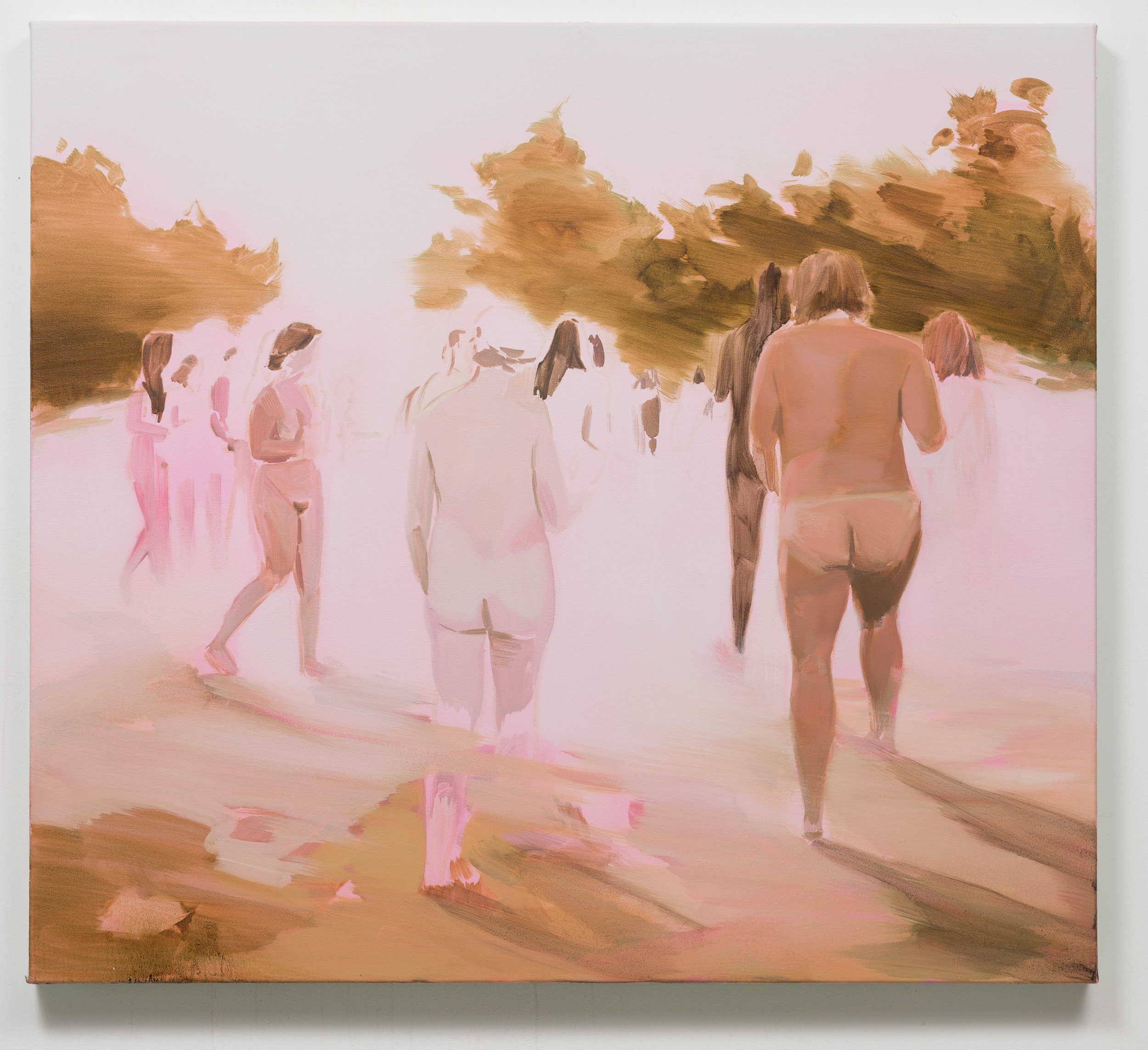 Corri-Lynn Tetz, Light, 2017. Oil on canvas.