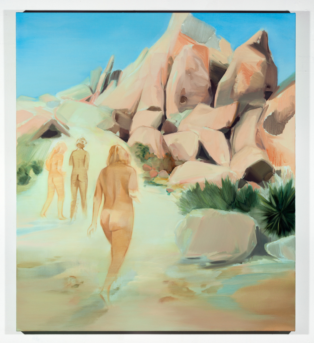 Corri-Lynn Tetz, Desert Suite 1, 2018. Oil on canvas, 36 x 40 inches