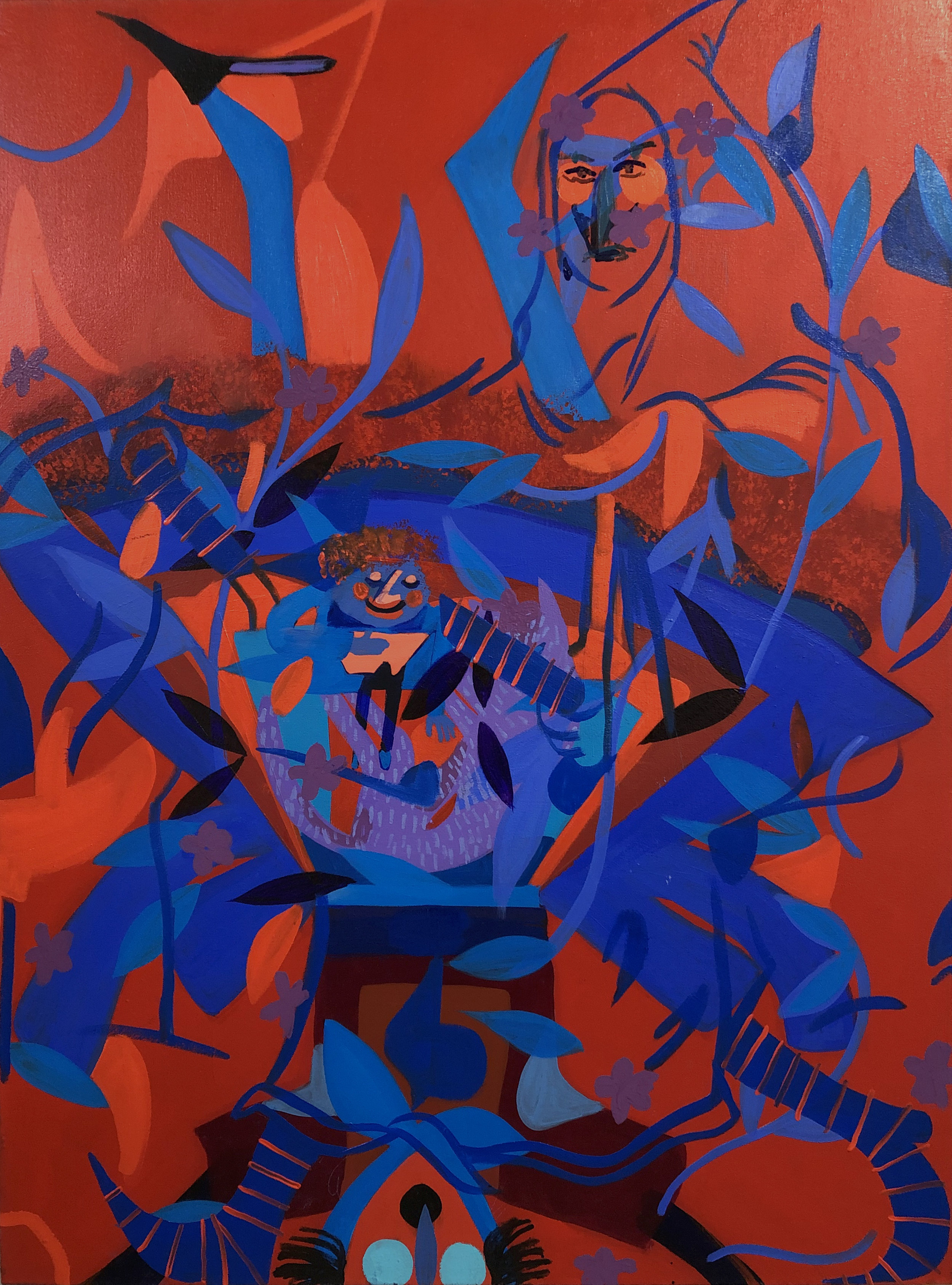 06_Joshua Petker, Title 4, 48x36%22, acrylic and oil on canvas, 2019.jpg