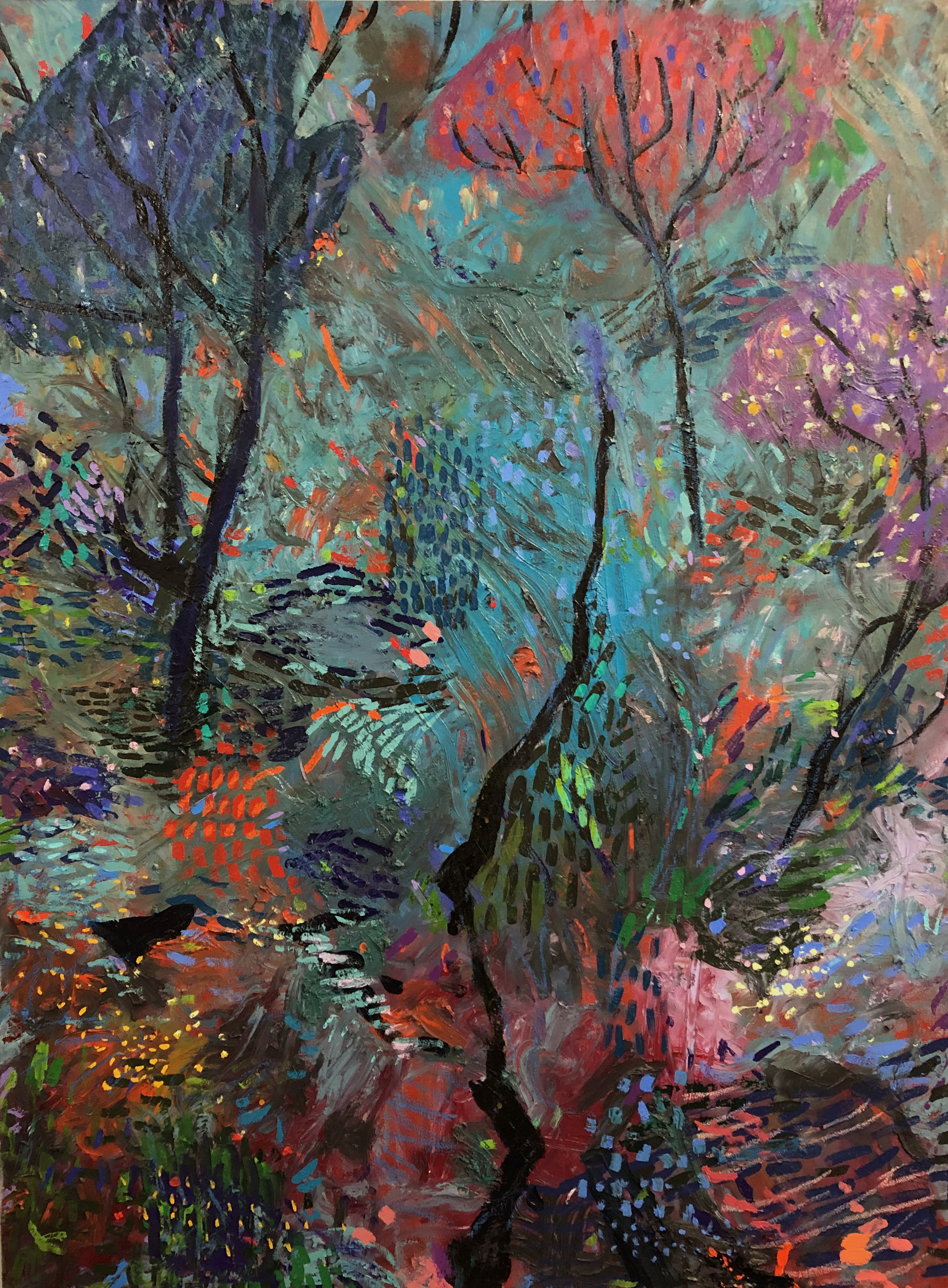 08_Joshua Petker, 48x36%22, acrylic and oil on canvas, 2018.jpg