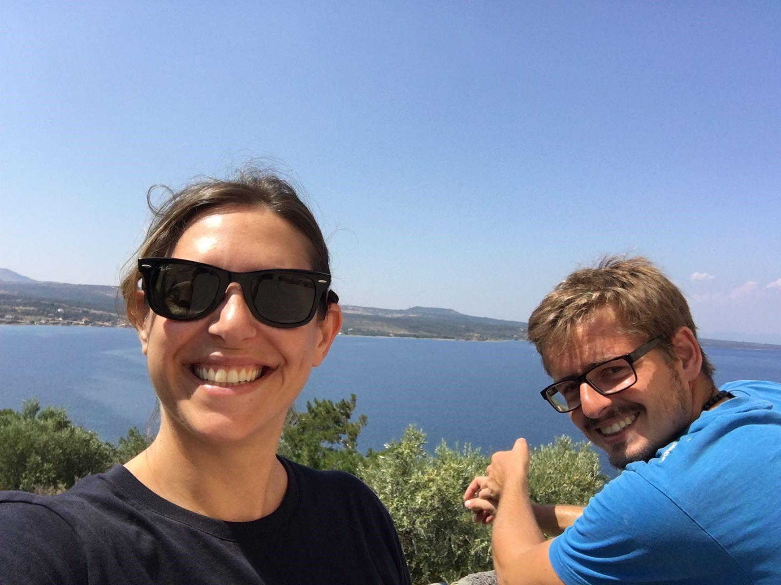 Adi and Fabian, OHF Co-Director