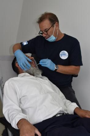 Mobile Clinic, Ofakim, Dr. Efi Carmi